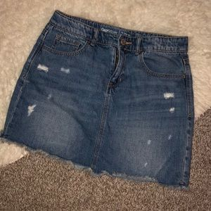 GAP MINI DENIM SKIRT